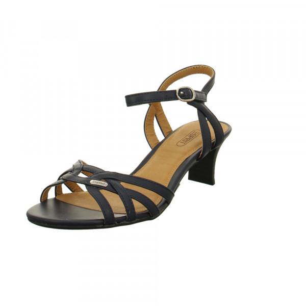 Esprit Damen Birkin Sandal Blaue Synthetik Sandalette Blau - Bild 1