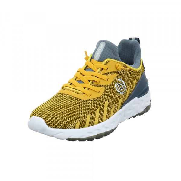 Bugatti Herren Looper Gelbe Mesh Sneaker Gelb - Bild 1
