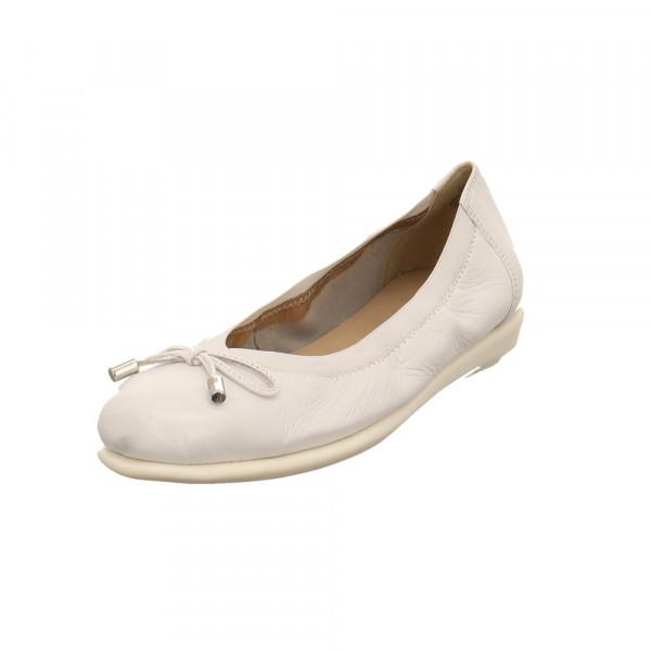Caprice Damen 22165-105 Weißer Glattleder Ballerina Weiß - Bild 1