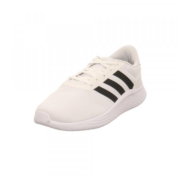 Adidas Herren Lite Racer 2.0Weißer Textil Sneaker Weiß - Bild 1