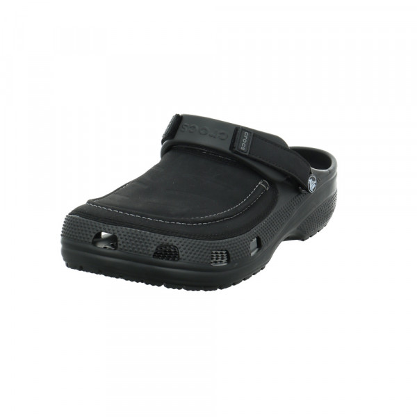 Crocs Herren Yukon Vista 2 Schwarzer Leder/Synthetik Clog Schwarz - Bild 1