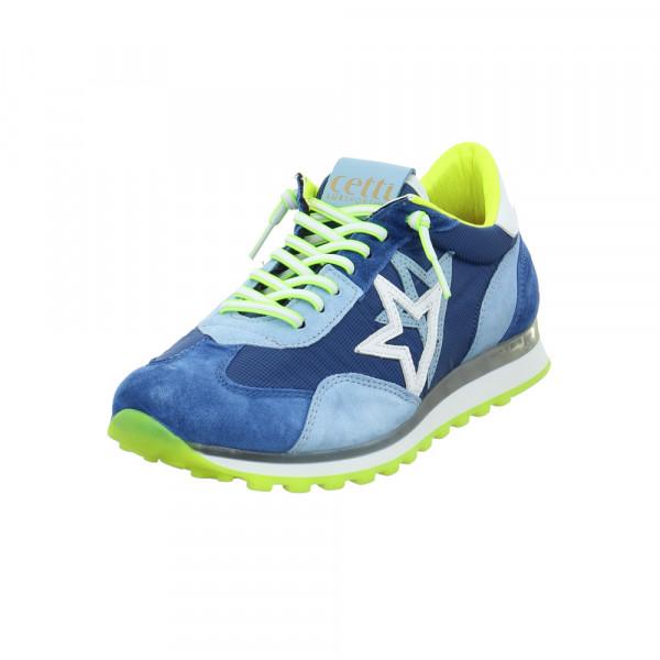 Cetti Herren C-1252ANTE ROYAL SKY Blauer Leder/Textil Sneaker Blau - Bild 1