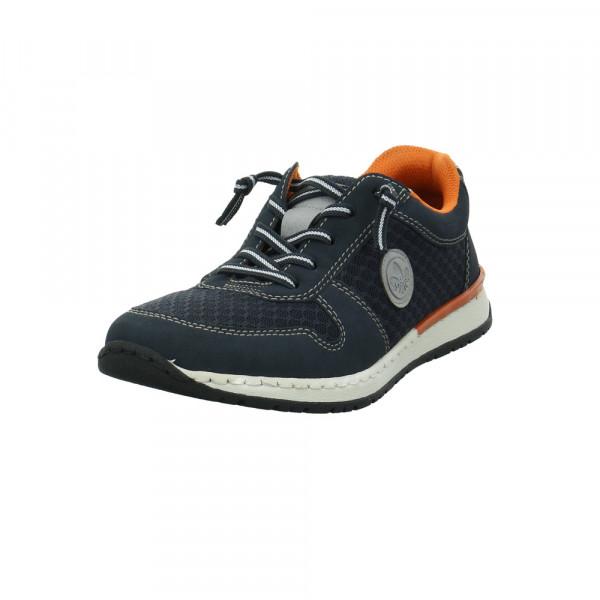 Rieker Herren B5133-16 Blauer Synthetik/Textil Sneaker Blau - Bild 1