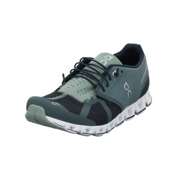 On Herren Cloud Grauer Textil Sneaker Grau - Bild 1