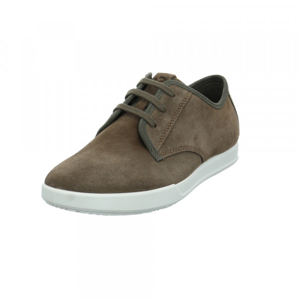 Ecco Herren Collin 2.0 Brauner Verloursleder Sneaker - Bild 1