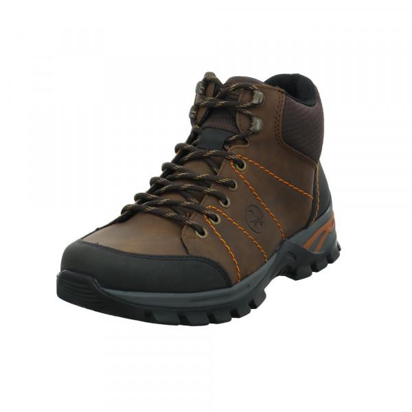 Rieker Herren F6819-00 Brauner Synthetik/Textil Boot