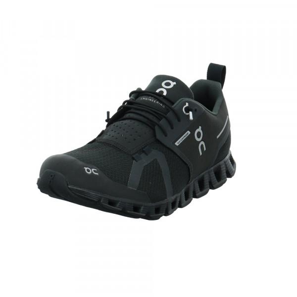 On Herren Cloud Waterproof Schwarzer Textil Sneaker Schwarz - Bild 1