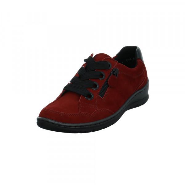 Ara Damen Gil Rote Nubukleder Sneaker Rot / Bordeaux - Bild 1