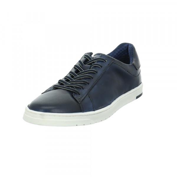 Bugatti Herren Orazio Blaue Glattleder Sneaker Blau - Bild 1