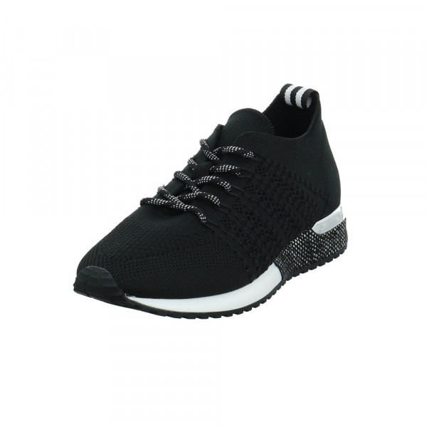 La Strada Damen 1802649-4501 Schwarzer Textil Sneaker Schwarz - Bild 1