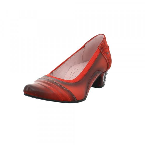 Maciejka Damen 04478-18/00-5 Rote Glattleder Pumps Rot / Bordeaux - Bild 1