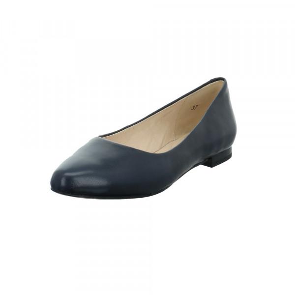 Caprice Damen 22104-855 Blauer Glattleder Ballerina Blau - Bild 1