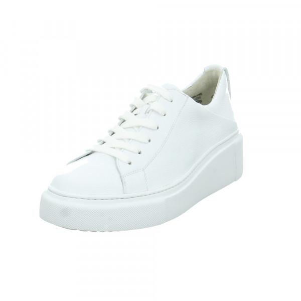 Paul Green Damen 4836-086 Weiße Glattleder Sneaker Weiß - Bild 1