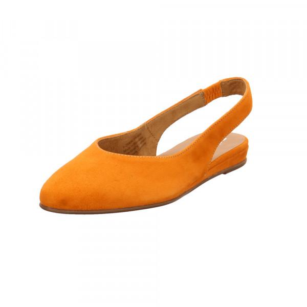 Tamaris Damen 29406-606 Oranger Veloursleder Sling Orange - Bild 1