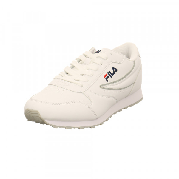 Fila Herren Orbit Low Weißer Synthetik Sneaker Weiß - Bild 1