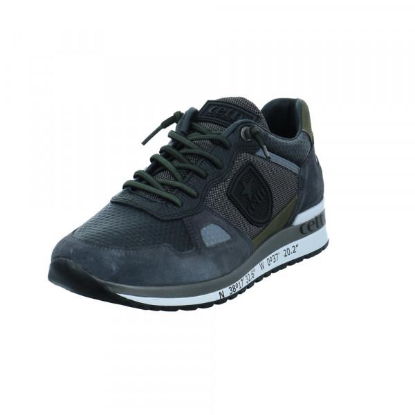 Cetti Herren C-1216GREY Grauer Leder Sneaker Grau - Bild 1