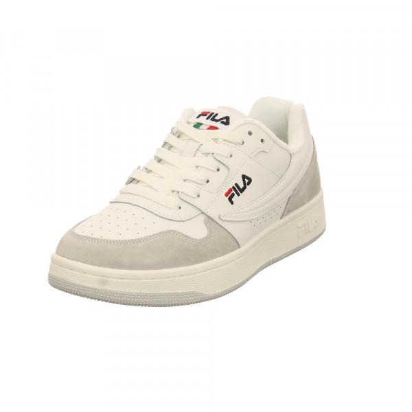 Fila Herren Arcade Low Weißer Leder Sneaker Weiß - Bild 1
