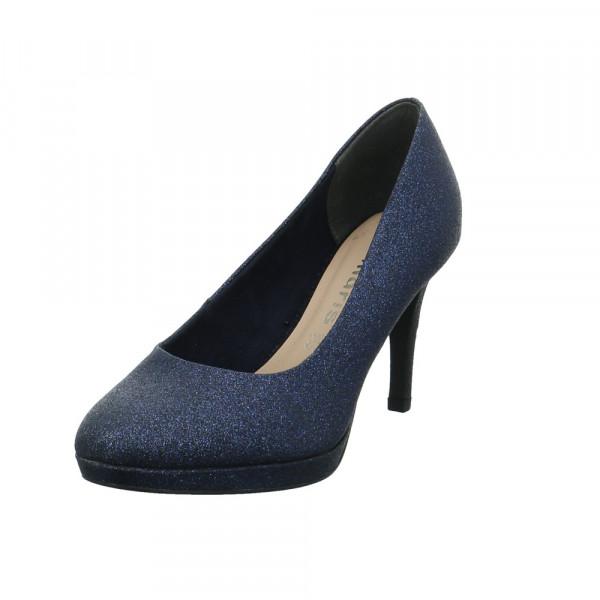 Tamaris Damen 22403-834 Blauer Textil Pumps Blau - Bild 1