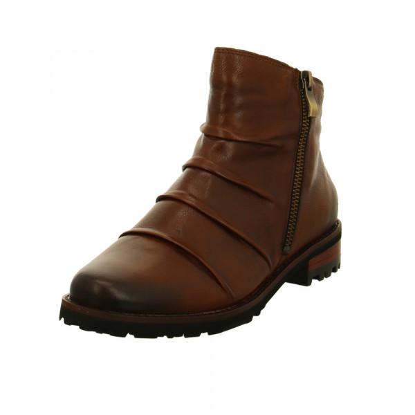 Everybody Damen 58121-2411 Braune Glattleder Boots Braun - Bild 1