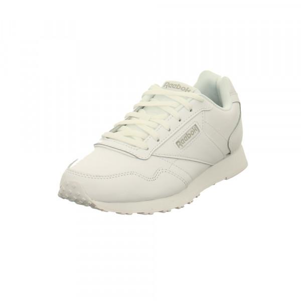 Reebok Damen Royal Glide Lx Weißer Leder Sneaker Weiß - Bild 1
