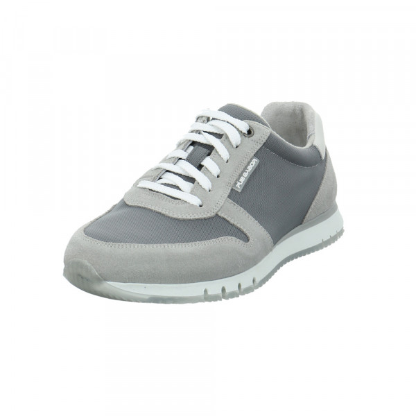 Gabor Pius Herren 1015.10.05 Grauer Leder/Textil Sneaker Grau - Bild 1