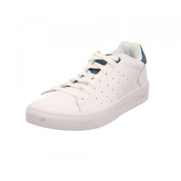 K-Swiss Herren Court Frasco II Weißer Glattleder Sneaker Weiß - Bild 1