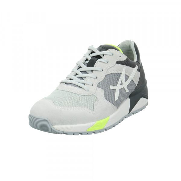 Allrounder Herren Speed Grauer Leder/Textil Sneaker Grau - Bild 1