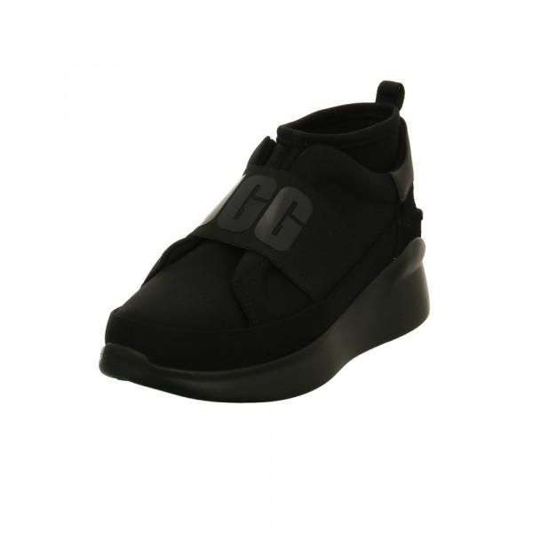 UGG Damen W Neutra 1095097-BKBK Schwarzer Textil Sneaker Schwarz - Bild 1