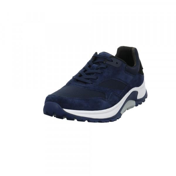 Gabor Pius Herren 8000.11.07 Blauer Leder/Textil Sneaker Blau - Bild 1