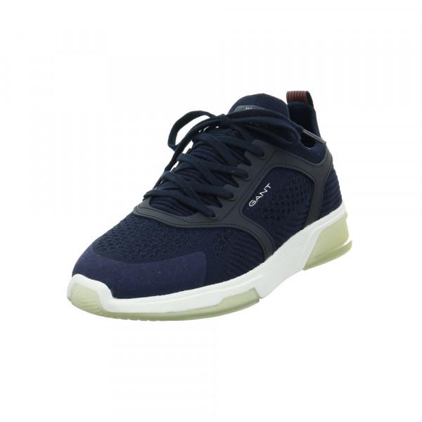 Gant Herren Hightown Blauer Synthetik/Textil Sneaker Blau - Bild 1
