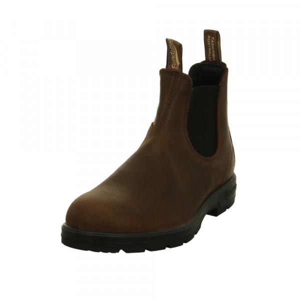 Blundstone Herren 1609 Braune Glattleder Chelsea Boots Braun - Bild 1