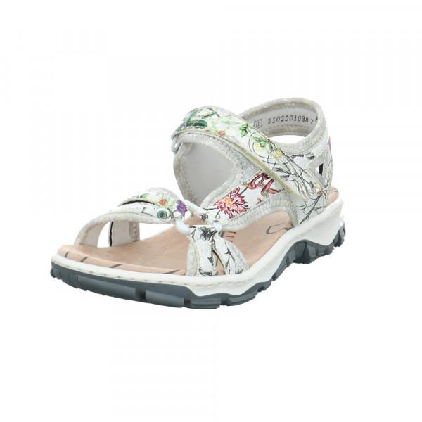 Rieker Damen 68879-90 Mehrfarbige Synthetik Sandale Multicolor - Bild 1
