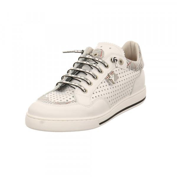 Cetti Herren C-1181 Weiße Glattleder Sneaker Weiß - Bild 1