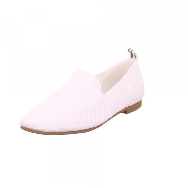 La Strada Damen 18044224504 Weiße Textil Ballerina Weiß - Bild 1
