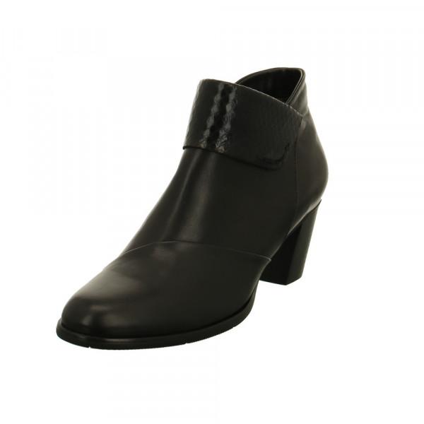 Regarde le Ciel Damen Sonia 37 Schwarze Glattleder Ankle Boots Schwarz - Bild 1