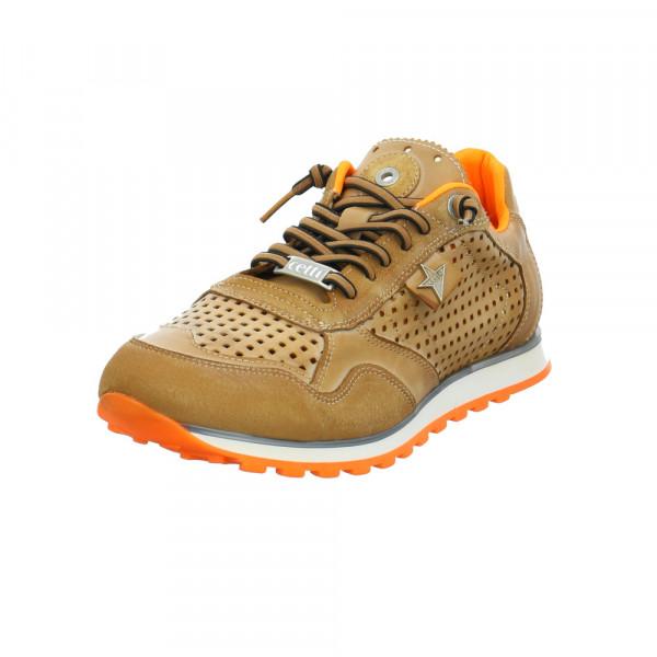 Cetti Herren C-848/Cuero Braune Glattleder Sneaker Braun - Bild 1